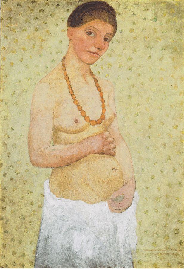 paula-moderson-becker-selbstbildnis-1906